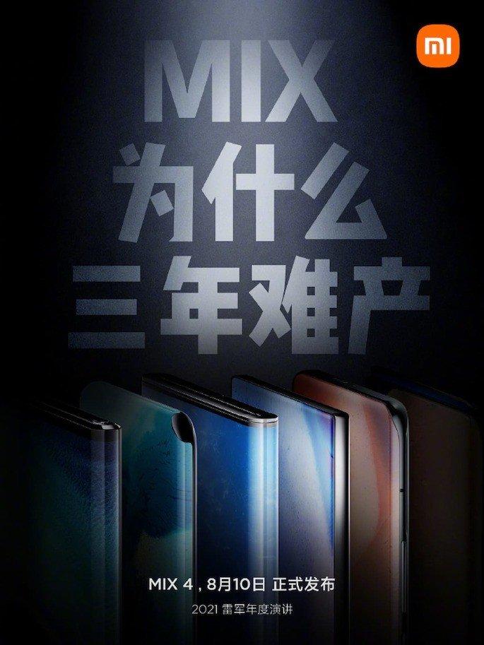 Die Entwicklung der Xiaomi Mi MIX-Linie