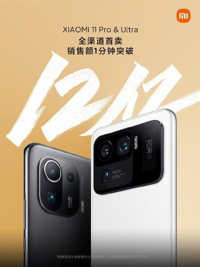 Xiaomi Mi 11 Ultra e Xiaomi Mi 11 Pro geram
