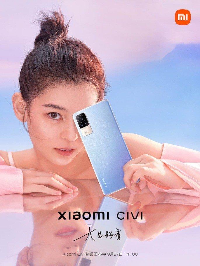 Xiaomi Civi tendrá la mejor autonomía en un teléfono inteligente de marca en 2021