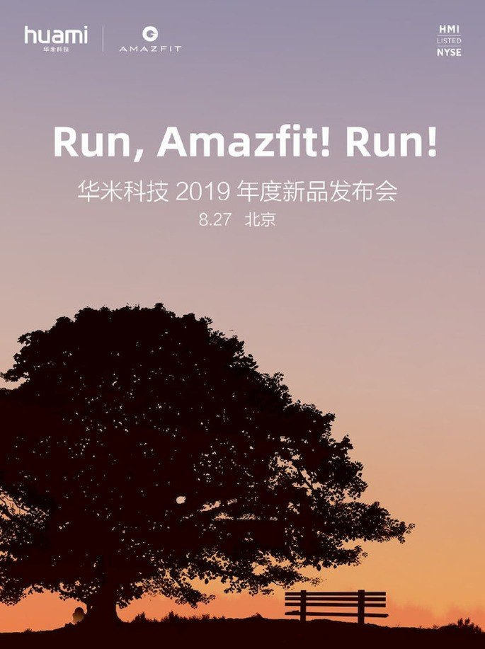 amazfit watch cartaz