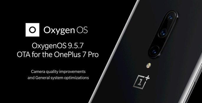oneplus 7 pro oxygenOS 9.5.7