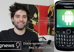 Apple Watch 2, BlackBerry gama-média, Note 6 e mais no diário 4gnews