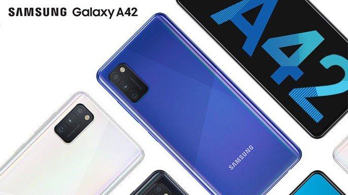 Este é o Samsung Galaxy A42 5G