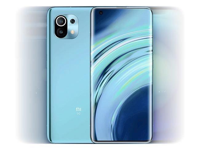 Xiaomi Mi 11 azul