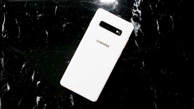 Galaxy S10 Plus cerâmica