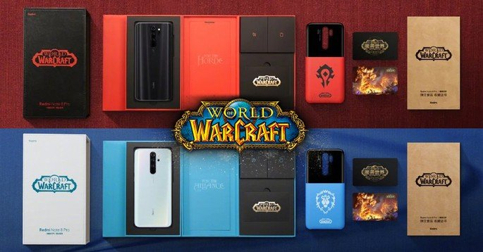Xiaomi Redmi Note 8 Pro world of warcraft