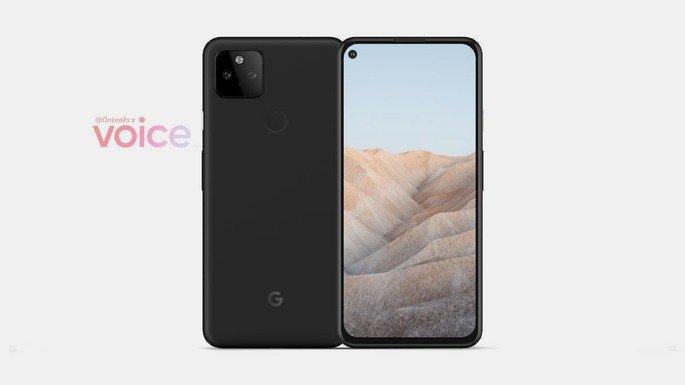 Este é o alegado design do Google Pixel 5a. Crédito: Steve Hemmerstoffer