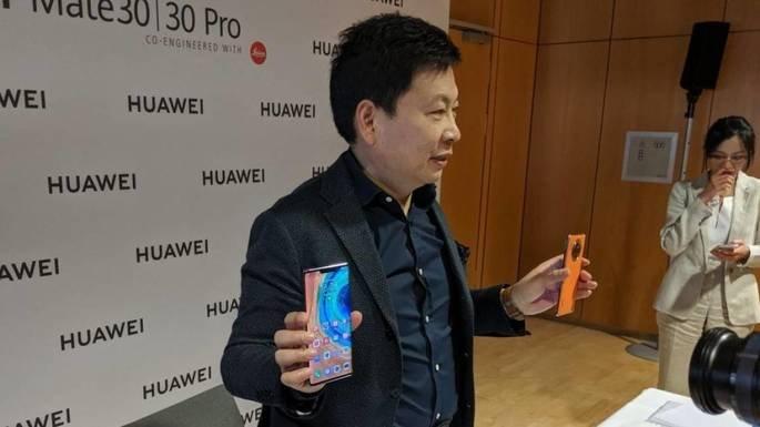 Richard Yu Huawei Mate 30 Pro