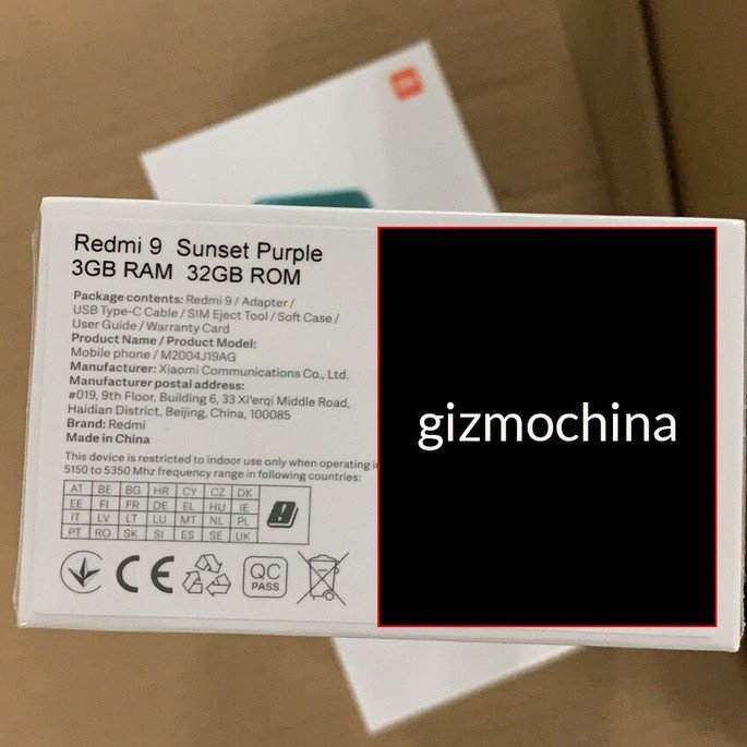 Xiaomi Redmi 9. Crédito: Gizmochina