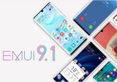 23 smartphones da Huawei recebem EMUI 9.1. Confirma se o teu está aqui