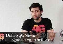 Xperia Z3+, LG G4, Honor 4C apresentação e mais Diário 4GNews