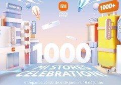 3 smartphones Xiaomi em promoção para celebrar as 1000 Mi Stores