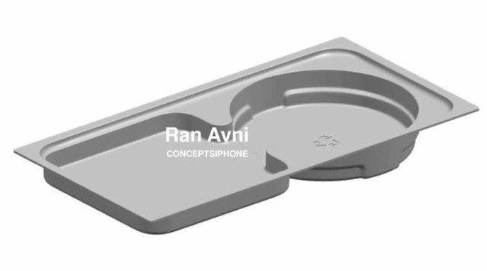 Estrutura da caixa interna do iPhone 12