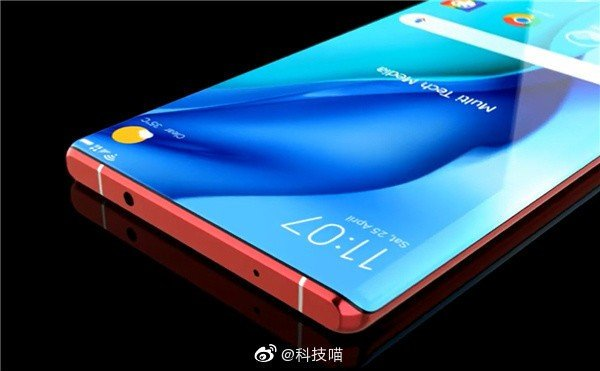 Huawei Mate 40 Pro conceito
