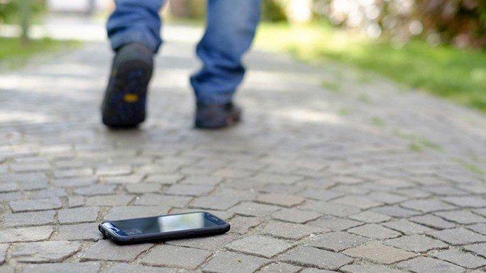 Samsung smartphone perder telefone