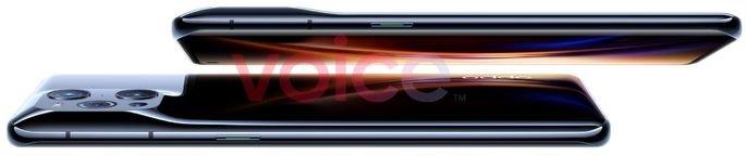 Design único do módulo de câmaras do Oppo Find X3 Pro. Crédito: Evan Blass