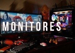 5 bons monitores gaming com descontos Cyber Monday