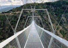516 Arouca: maior ponte pedonal suspensa do mundo abriu em Portugal