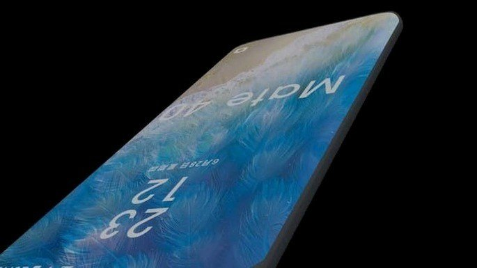 Alegado Huawei Mate 40