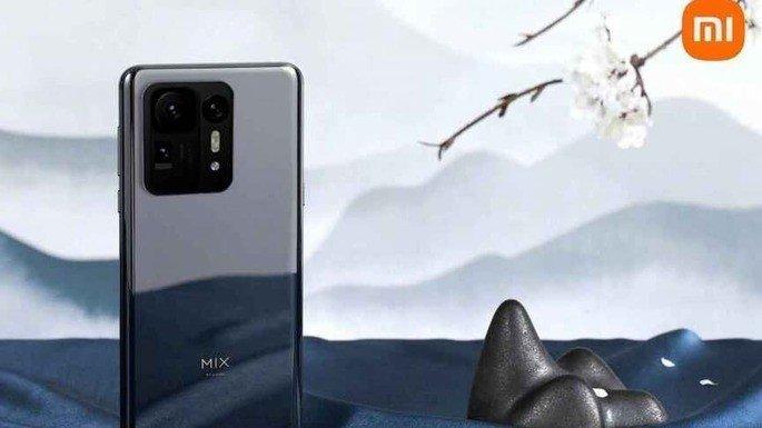 O design do Xiaomi Mi MIX 4