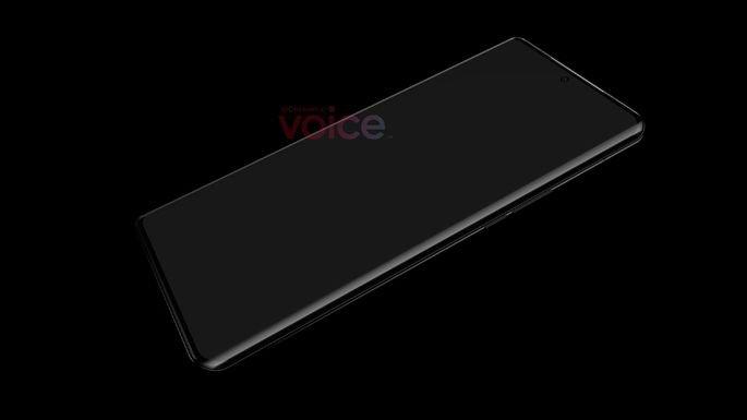 Primeira imagem não-oficial do Huawei P50 Pro. Crédito: Voice