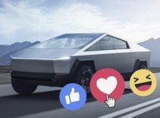 A reação da Internet ao novo carro elétrico Tesla Cybertruck é imperdível!
