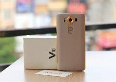 O LG V10 como nunca o viste! Robustez e elegância com um toque dourado