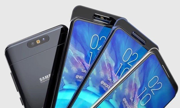 Samsung Galaxy A90 Wallpapers: Afinal Não é A90: Samsung Galaxy A70 E A80 São