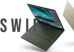 Acer anuncia os novos Swift 5 e Swift 3 com processadores Intel 11.ª Gen