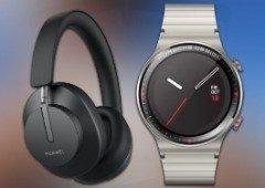 Huawei surpreende fãs com novo smartwatch e headphones de luxo