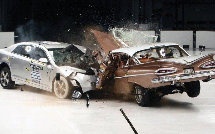 acidentes estados unidos carros autónomos