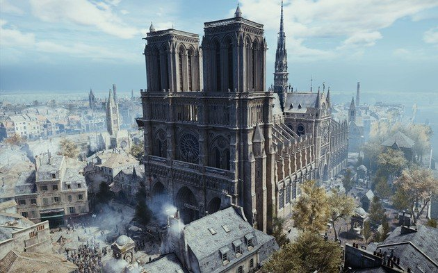 Assassin's Creed Unity Catedral de Notre Dame