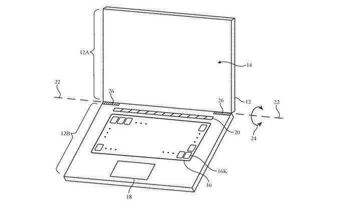 Patente teclados Apple MacBook