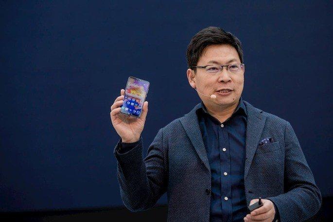 O responsável pelo segmento mobile da Huawei, Richard Yu