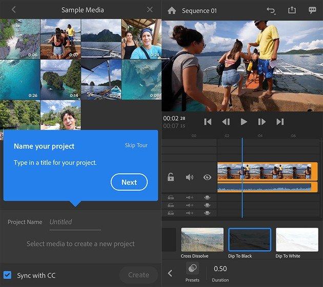 Adobe Premiere Rush chegou finalmente ao Android! - 4gnews