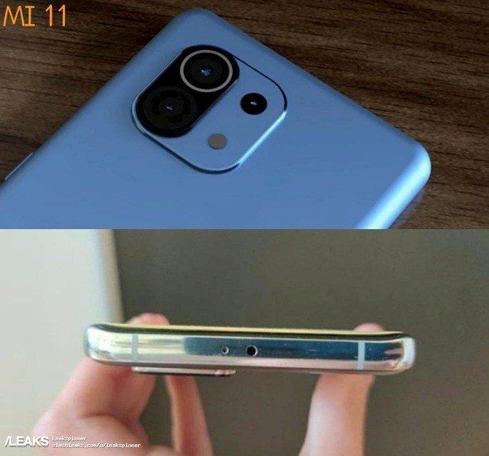Alegado Xiaomi Mi 11