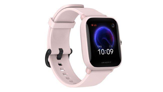 Xiaomi Amazfit Bip U em rosa