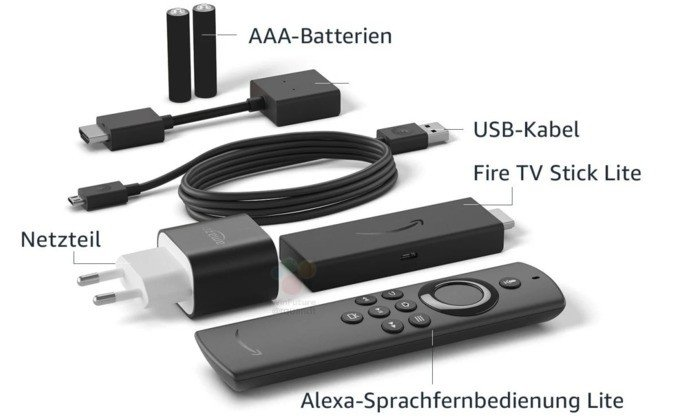 Imagem do Amazon Fire TV Stick Lite. Crédito: Win Future