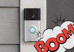 Amazon Ring: campainha está a explodir nos utilizadores que não a instalam corretamente