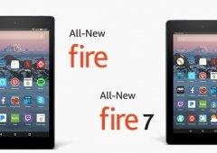 Amazon: Novos Fire 7 e Fire HD 8 começam hoje a ser enviados