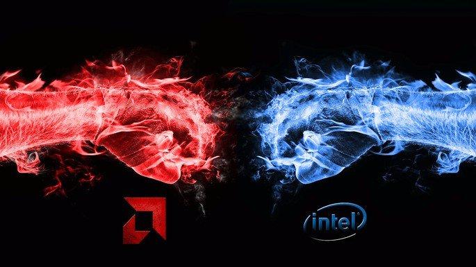 Batalha entre Intel e AMD