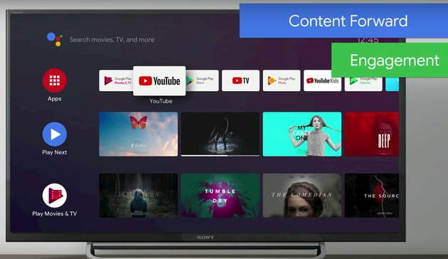 android tv design