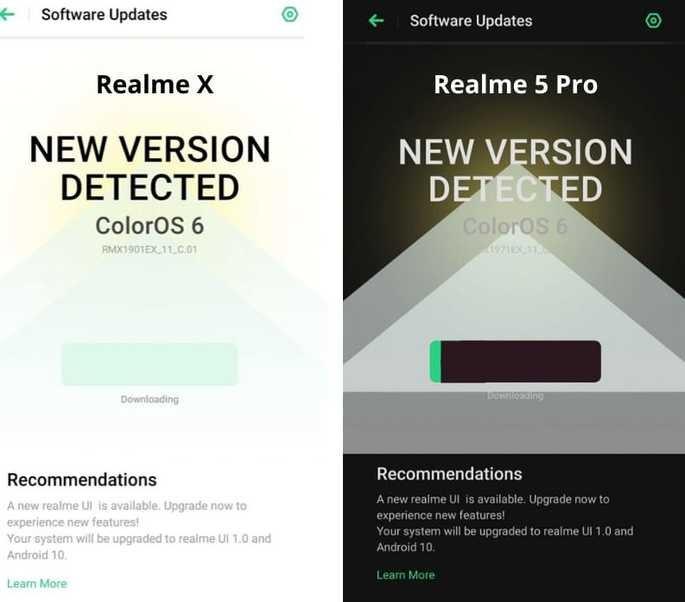 Realme X Realme 5 Pro