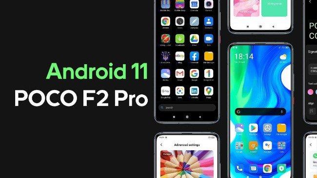 Android 11 POCO F2 Pro
