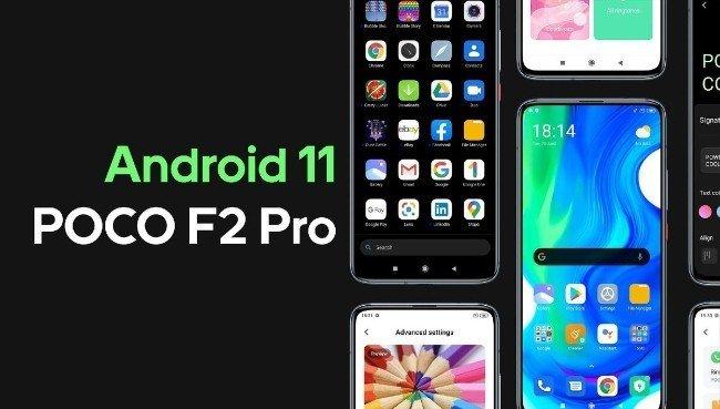 Android 11 MIUI 12 POCO F2 Pro