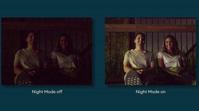 Camera Go Night mode