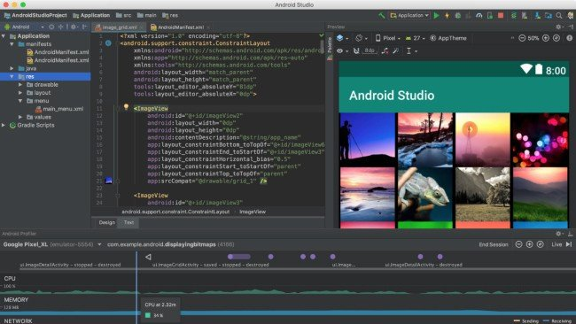 Android Studio Google