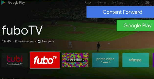 google android tv play store