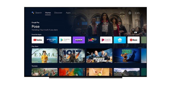 Android TV Home