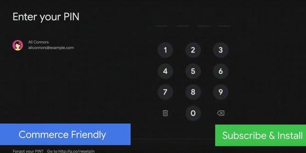 androi tv subscrição